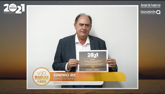 Marcos Fuhr, diretor do Sinpro/RS