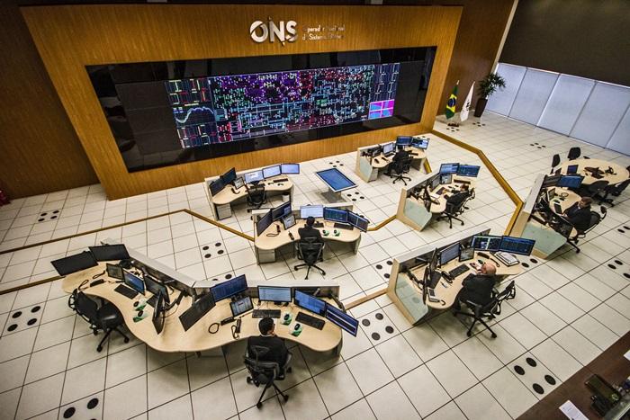 Centro de Operações do ONS no Rio de Janeiro