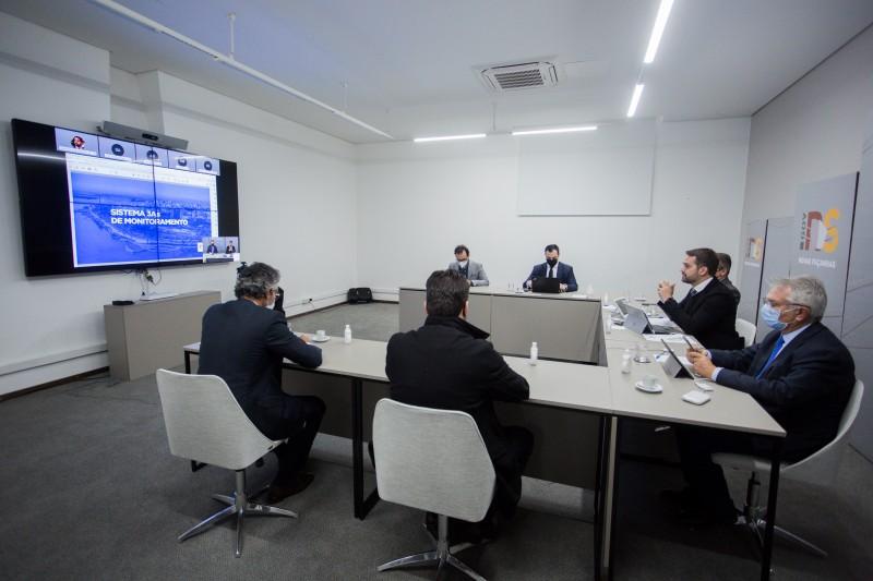 Novo sistema de monitoramento da pandemia foi apresentado pelo governo do estado em reunião no dia 14 de maio