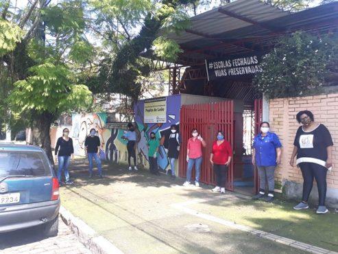 Sindicatos questionam convocação de funcionários e professores do ensino privado pela prefeitura de Porto Alegre | Foto: Simpa/ Divulgação