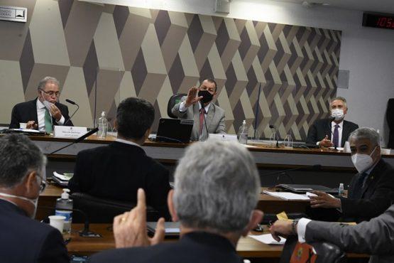 Pressionado na CPI, ministro da Saúde evita posições contraditórias de Bolsonaro | Foto: Edilson Rodrigues/Agência Senado