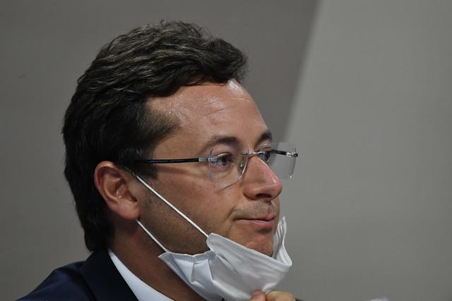 Sob pressão: Wajngarten foi confrontado com informações que deu à Veja sobre atraso nas vacinas