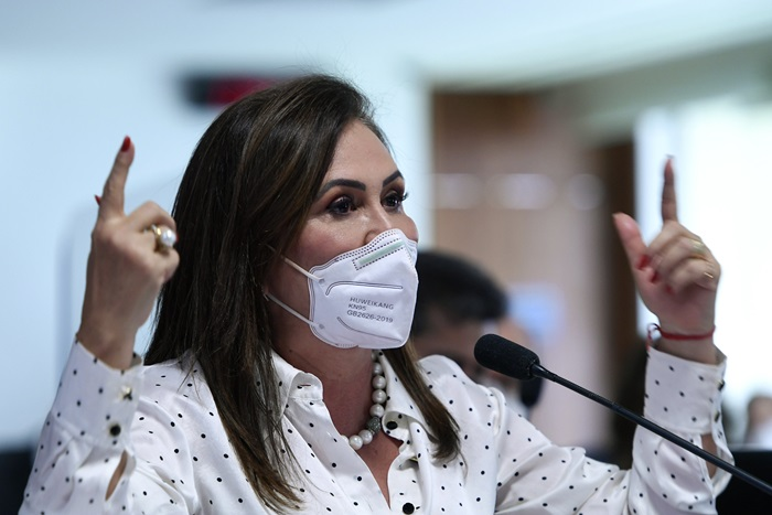 """""""O senhor realmente é um homem muito ousado"""", ironizou a senadora Kátia Abreu"""