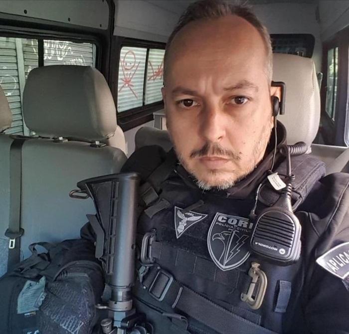 Entre os 25 mortos está o policial André Frias, da Delegacia de Combate às Drogas