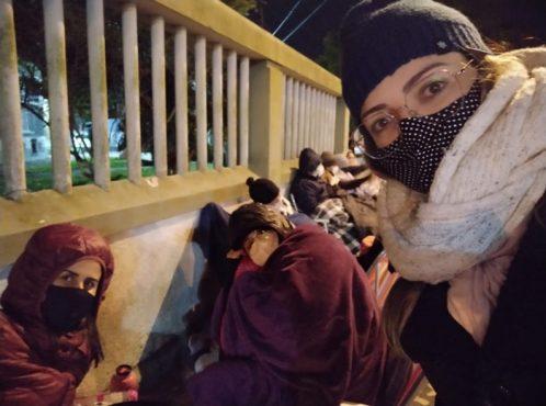 Professoras da educação infantil esperaram até 11 horas por vacina em Rio Grande | Foto: Redes Sociais/ Reprodução