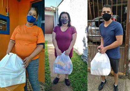 Professores Solidários entregam 80 cestas básicas | Fotos: AssCom/Sinpro-RS