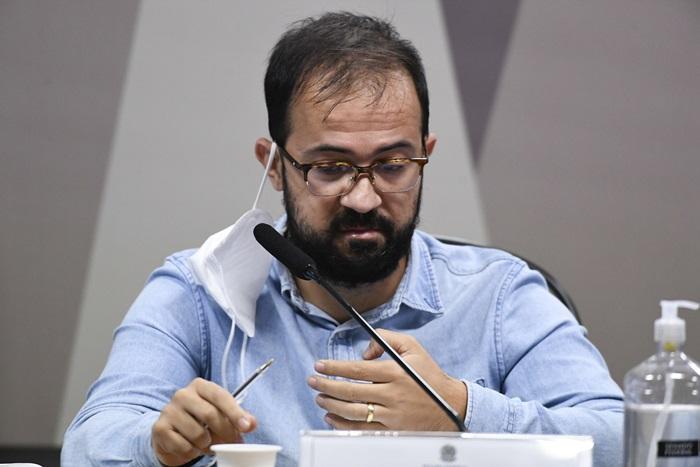 Luis Ricardo Miranda, chefe de importação do Departamento de Logística do Ministério da Saúde