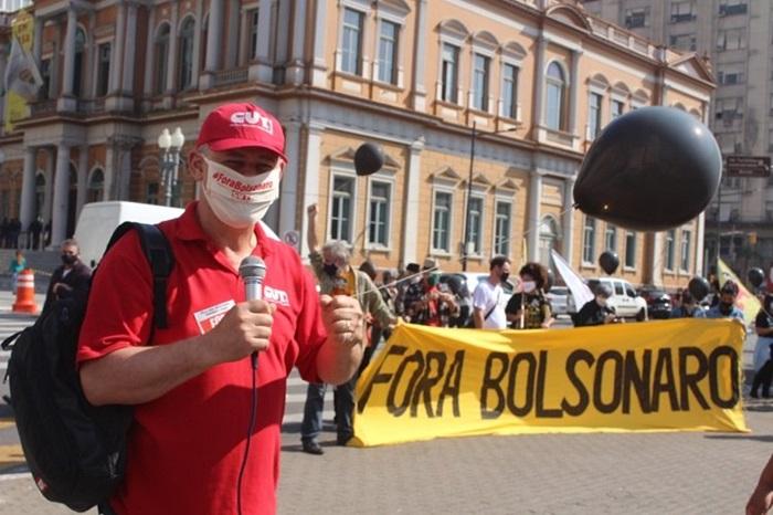 """""""O movimento será maior do que o #29M, que levou cerca de 30 mil pessoas às ruas de Porto Alegre"""", projeta Amarildo Cenci, presidente da CUT-RS"""