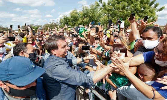 Associação de vítimas da covid-19 pede condenação criminal de Bolsonaro por negligência | Foto: Alan Santos/PR