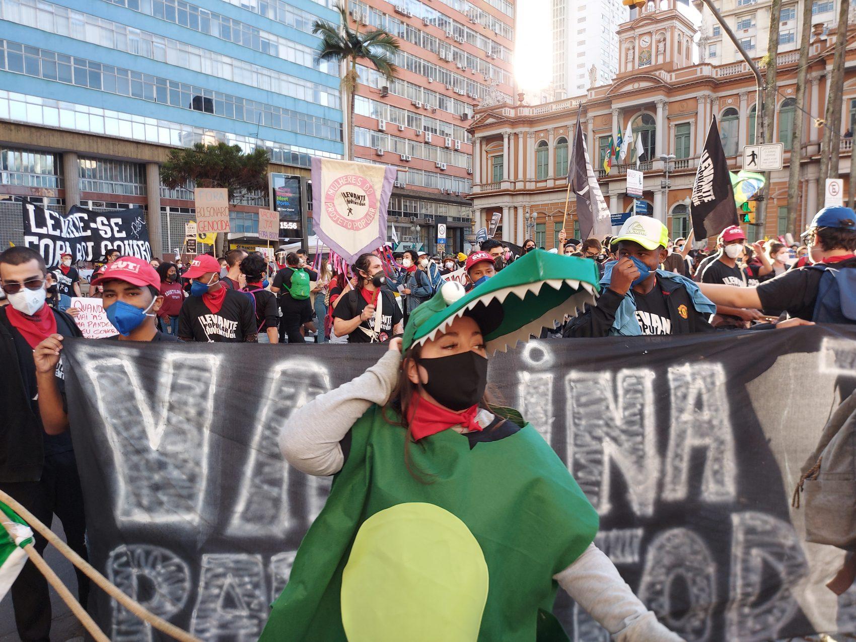 Protestos nos dias 18 e 19 têm em comum o contraponto ao governo Bolsonaro, assim como ocorreu no dia 29 de maio
