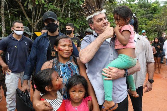 Entidades acusam Bolsonaro de promover extermínio indígena na Amazônia | Foto: Marcos Correa/PR