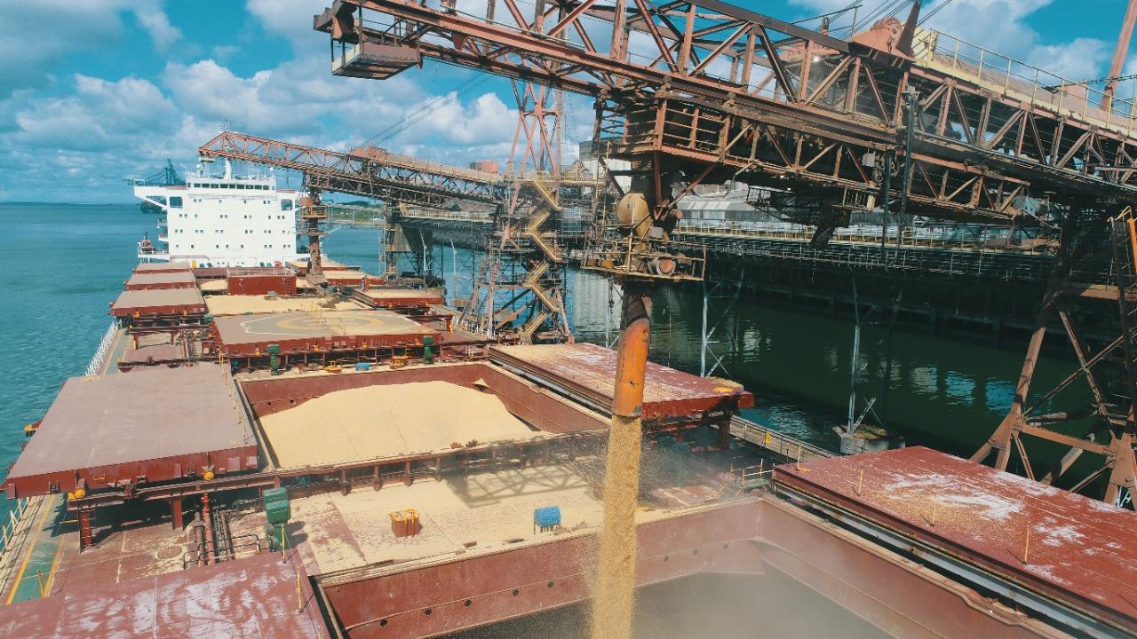 Exportações tem na soja um dos maiores volumes