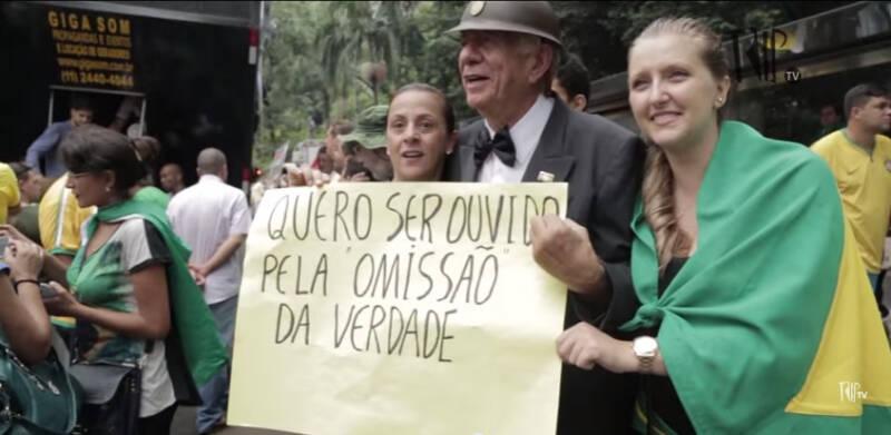 O ex-agente do Dops voltou aos holofotes nas passeatas da extrema-direita