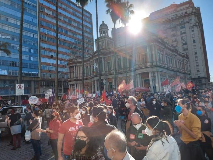 Mobilização do final de maio que levou milhares ao centro de Porto Alegre serão intensificadas em todo o país no #19J