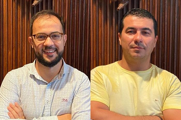 O servidor do Ministério da Saúde Luis Ricardo Miranda (à esquerda) e o deputado federal Luis Miranda: os irmãos depõem à CPI nesta sexta