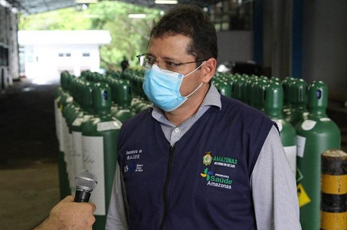 Marcellus Campelo era o secretário de Saúde durante o colapso no fornecimento de oxigênio aos pacientes de covid-19 no Amazonas