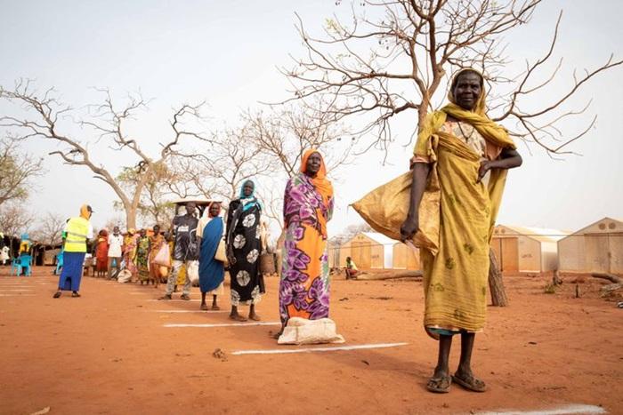 Mais de dois terços de todas as pessoas refugiadas vieram de apenas cinco países, sendo 2,2 milhões do Sudão do Sul (foto)