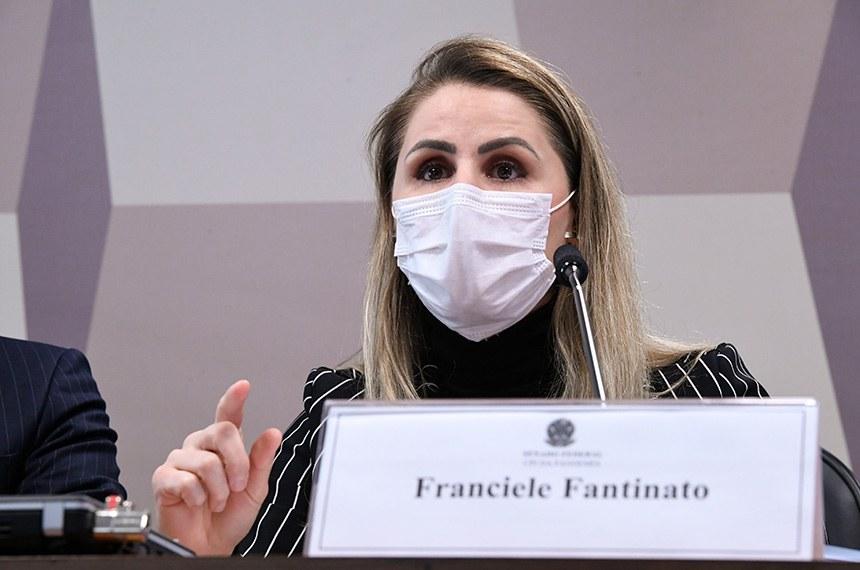Francieli Fantinato, ex-coordenadora do Programa Nacional de Imunizações (PNI) do Ministério da Saúde