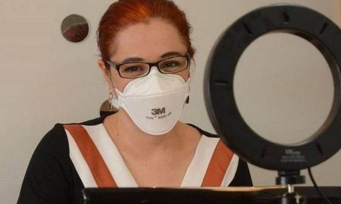 Melissa Markoski, professora de Biossegurança da UFCSPA