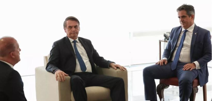 Onyx Lorenzoni, Jair Bolsonaro e Ciro Nogueira