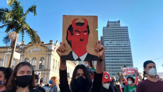 Movimentos sociais querem 100 m il nas ruas de Porto Alegre (2) | Foto: Igor Sperotto