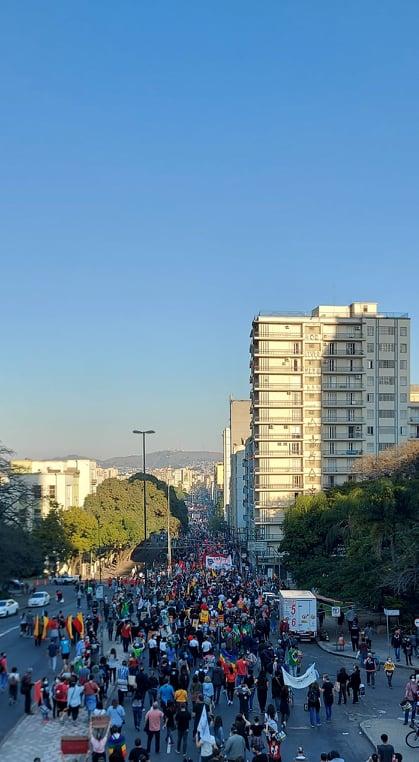 #24J Quarta onda de protestos pede impeachment de Bolsonaro