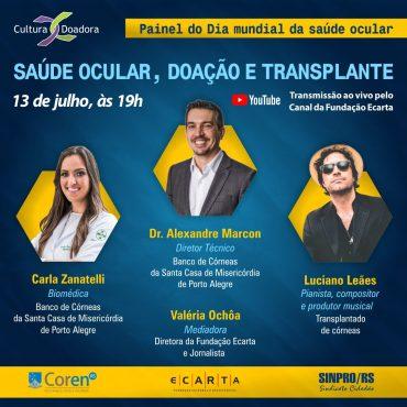 Saúde ocular, doação e transplante de córnea | Foto: Divulgação