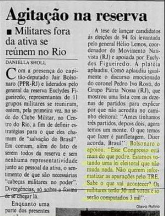 Jornal do Brasil, 21 de agosto de 1993