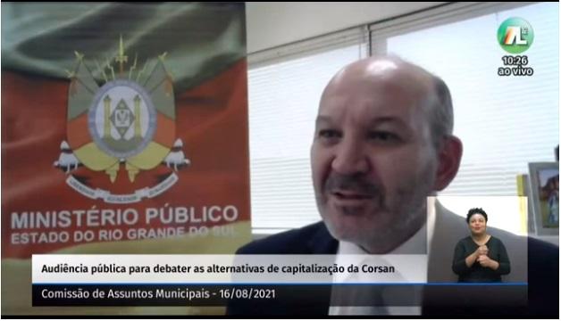 Procurador Maurício Trevisan, do Ministério Público de Estadual