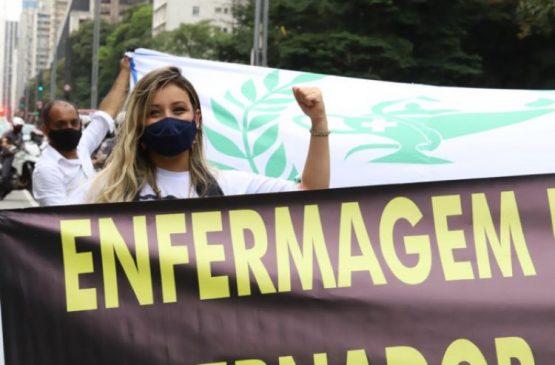 Quase 1 milhão vota a favor do piso da enfermagem | Foto: CUR-RS/Divulgação