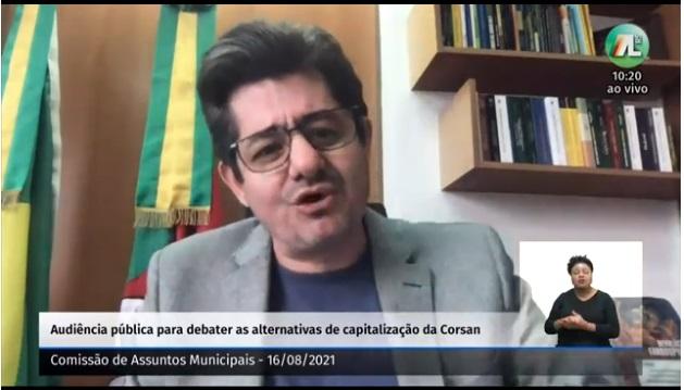 Deputado estadual Tiago Simon (MDB), presidente da Comissão de Constituição e Justiça (CCJ), anunciou que pedirá a retirada do regime de urgência dos Projetos de Lei (PLs)210/2021e211/2021