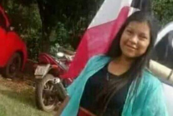A adolescente kaingang Daiane Sales, de 14 anos, assassinada dentro da reserva ndígena em Redentora