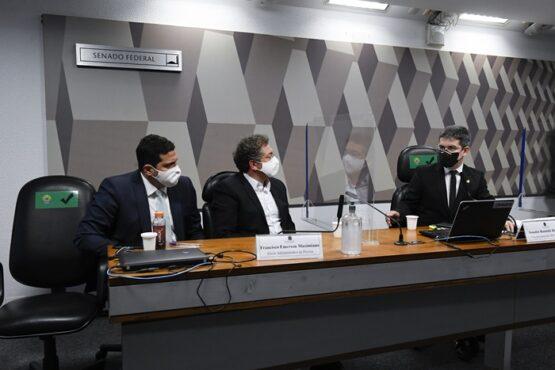 PF faz busca e apreensão na Precisa Medicamentos | Foto: Roque de Sá/Agência Senado