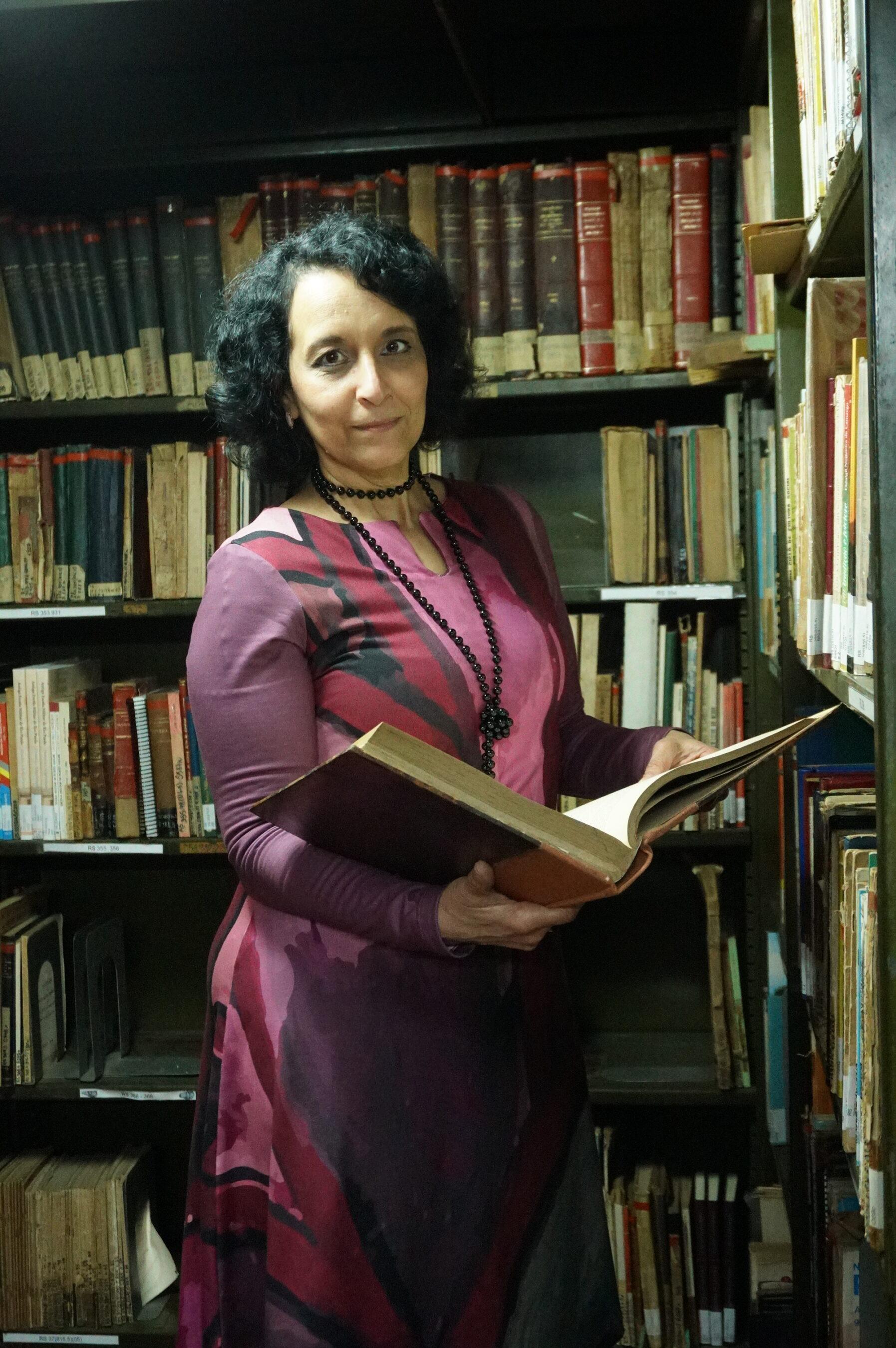 Morgana Marcon, diretora da Biblioteca Pública do Rio Grande do Sul