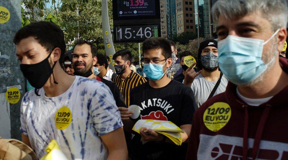 Lideranças do MBL negociam apoio de outras forças políticas para anto no dia 12 de setembro pelo impeachment