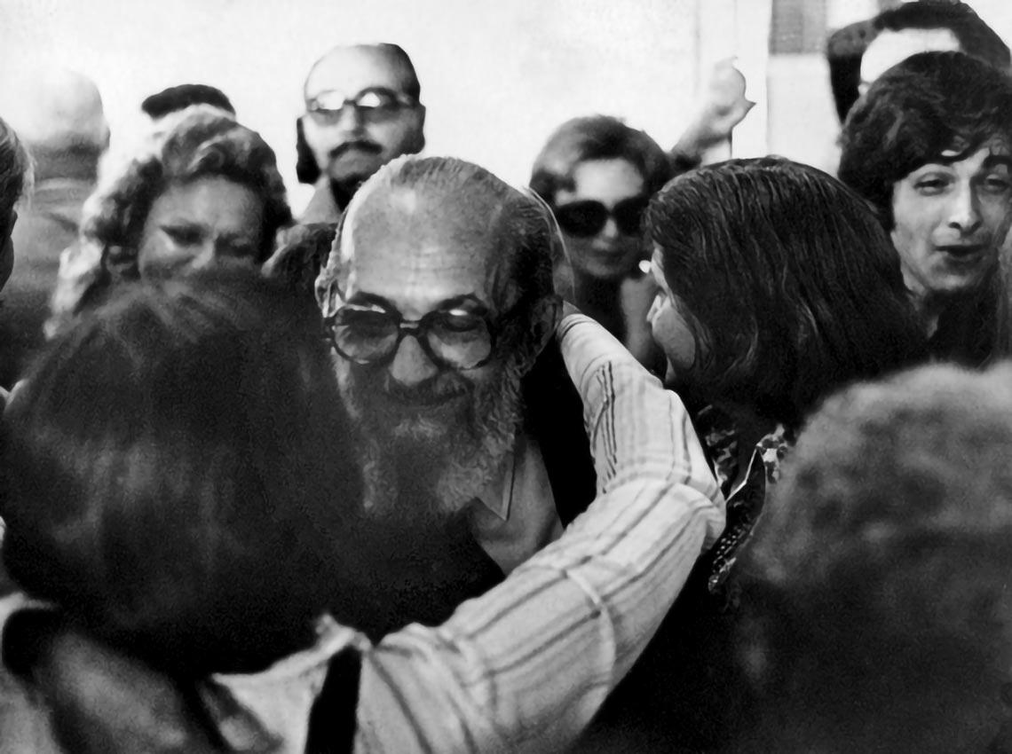 Freire ficou 15 anos no exílio e voltou ao Brasil em 7 de agosto de 1979