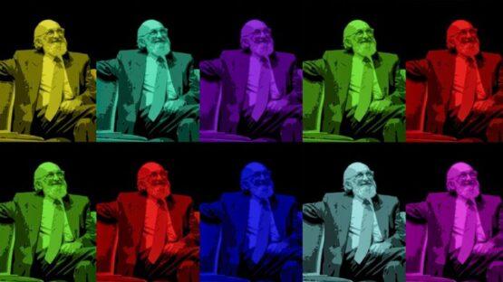 Freire a m,ais de 100 |  Arte de Fábio Edy Alves sobre foto do Instituto Paulo Freire (Bold Comunicação)
