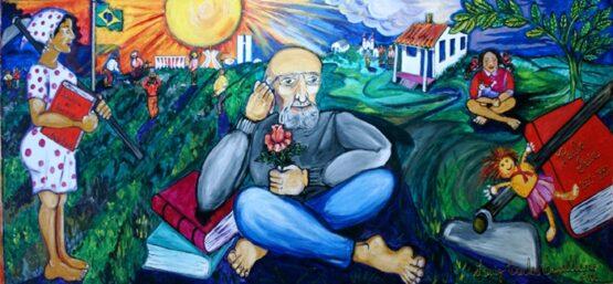 Pedagogia da esperança e a pedagogia do encontro | Arte: Luiz Carlos Cappellano/ Domínio Público