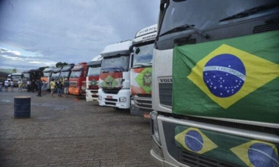 Em vídeo, Zé Trovão desmobiliza caminhoneiros | Foto: Twitter/ Reprodução