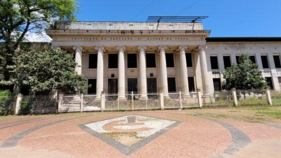 Aporte milionário prepara cessão de prédio do Instituto de Educação à empresa privada | Foto: Igor Sperotto