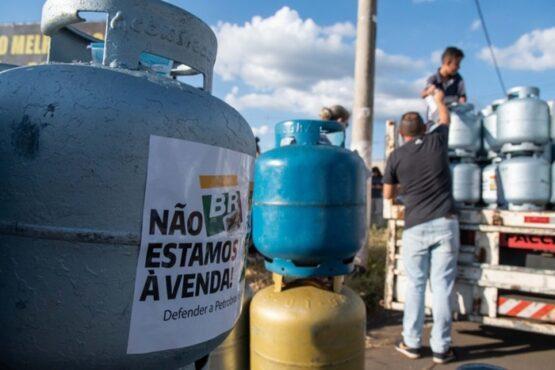 Senado aprova subsídio para a compra de gás de cozinha | Foto: Sindipetro/ Arquivo