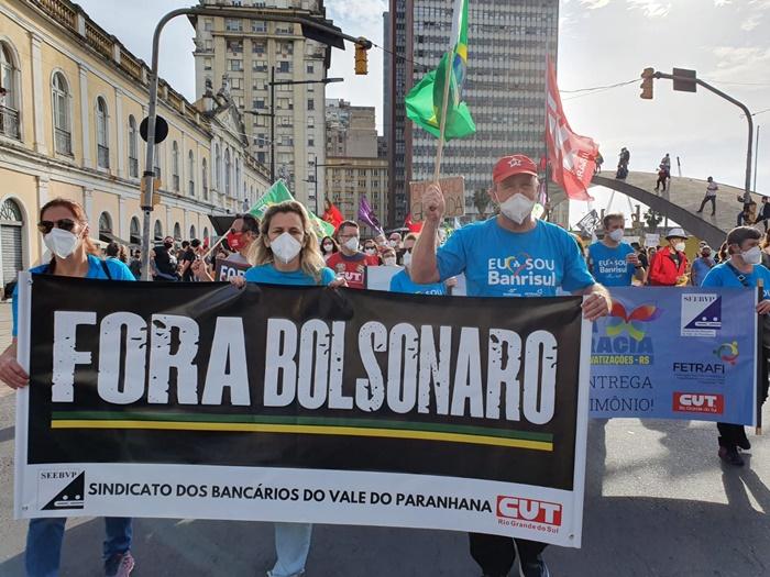 #ForaBolsonaro mobiliza todas as capitais em defesa do impeachment